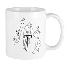 Triathlon Man Mug