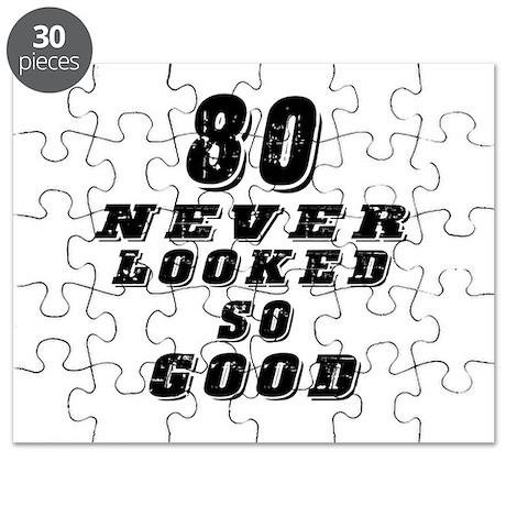 80 Birthday Designs Puzzle
