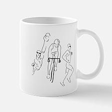 Triathlon Man Mug