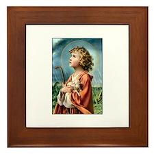 The Little Shepherd Framed Tile