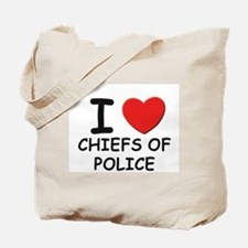 I love chiefs of police Tote Bag