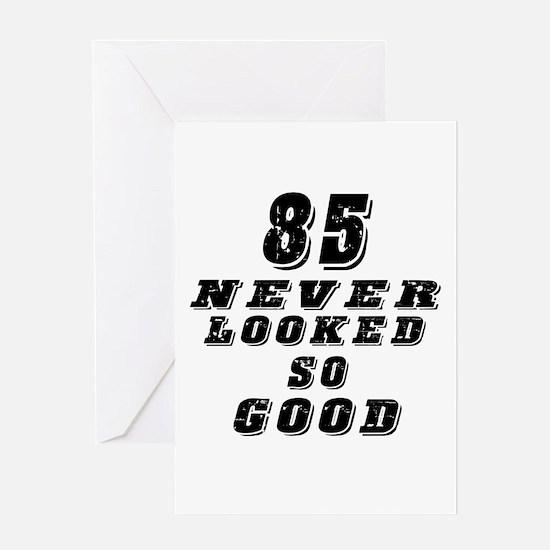 85 Birthday Designs Greeting Card