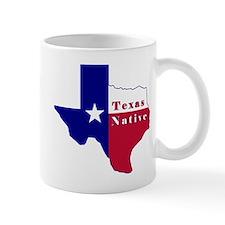 Texas Native Flag Map Mug