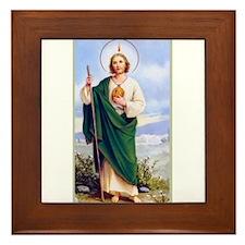 Saint Jude Framed Tile