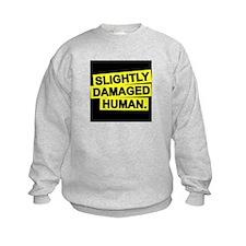 Slightly Damaged Human Sweatshirt