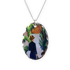 , 1914 @oil on canvasA - Necklace