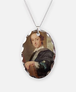 4th Earl of Oxford, 1754 @oil on canvasA - Necklac