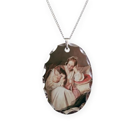 A Mother's Love, 1839 - Necklace Oval Charm