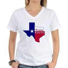 Texas Forever Flag Map Shirt