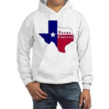 Texas Forever Flag Map Hoodie