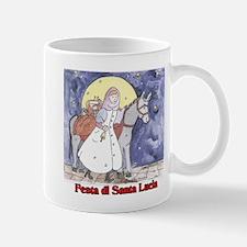 Festa di Santa Lucia Small Small Mug