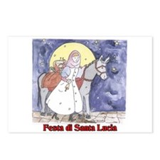 Festa di Santa Lucia Postcards (Package of 8)