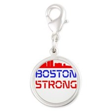 Boston Strong Skyline Red White and Blue Charms