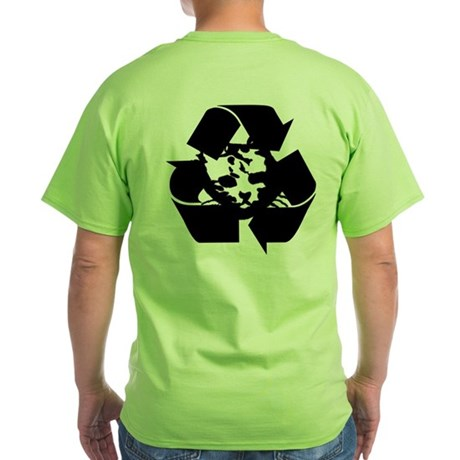 Recycle your Animals Shirt (Green)