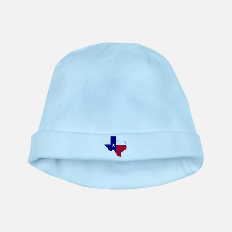 Texas Flag Map baby hat