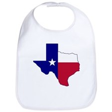 Texas Flag Map Bib
