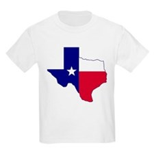 Texas Flag Map T-Shirt