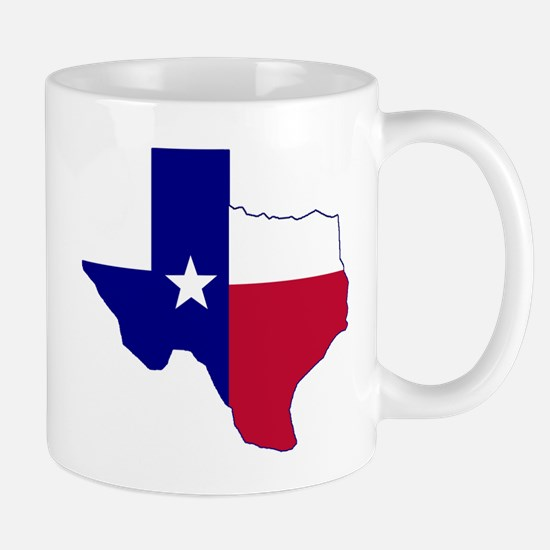 Texas Flag Map Mug