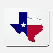 Texas Flag Map Mousepad