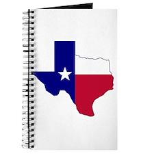 Texas Flag Map Journal