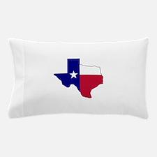 Texas Flag Map Pillow Case