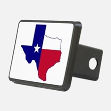 Texas Flag Map Hitch Cover