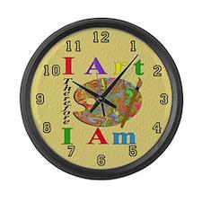 I Art Large Wall Clock