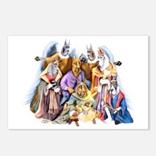 Great Dane Nativity Postcards (Package of 8)