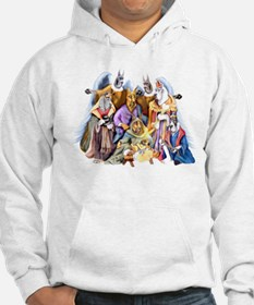 Great Dane Nativity Hoodie