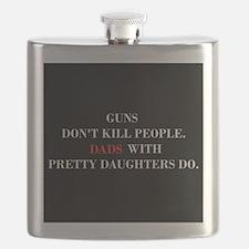 Guns Don't Kill. Dads Do. Flask