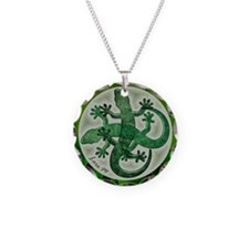 Green salamanders - Necklace
