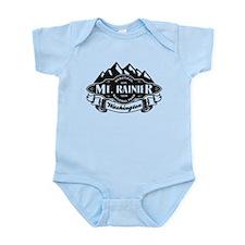 Mt. Rainier Mountain Emblem Infant Bodysuit