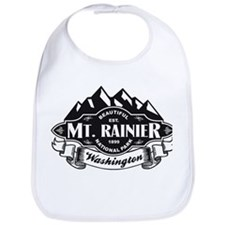 Mt. Rainier Mountain Emblem Bib