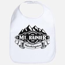 Mt. Rainier Mountain Emblem Bib