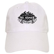 Mt. Rainier Mountain Emblem Baseball Cap