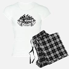 Mt. Rainier Mountain Emblem Pajamas