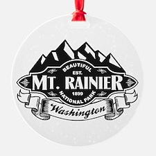 Mt. Rainier Mountain Emblem Ornament