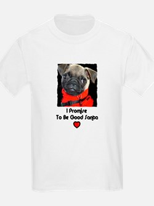 PROMISE TO BE GOOD SANTA Kids T-Shirt