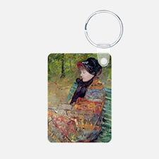 a Cassatt, 1880 @oil on canvasA - Keychains