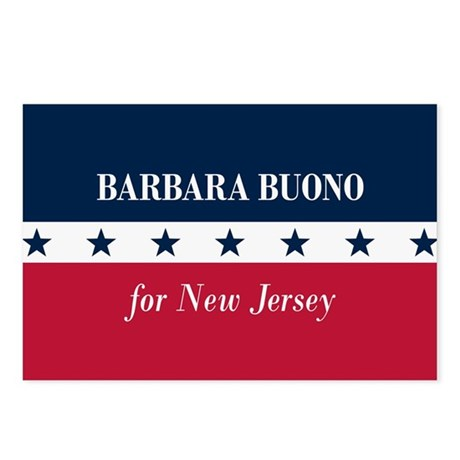 Barbara Buono for NJ Postcards (Package of 8)