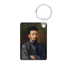 Garshin, 1878 @oil on canvasA - Keychains
