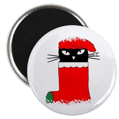 "CHRISTMAS KITTY 2.25"" Magnet (10 pack)"