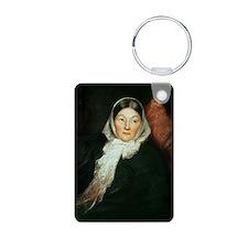 20-1910A @oil on canvasA - Keychains