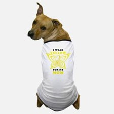 I Wear Yellow For My Mom Dog T-Shirt