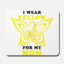 I Wear Yellow For My Mom Mousepad