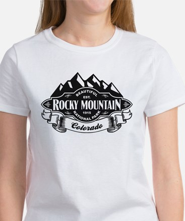 Rocky Mountain Mountain Emblem Women's T-Shirt