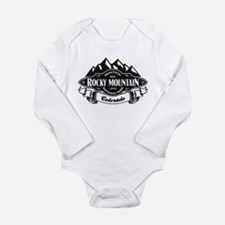 Rocky Mountain Mountain Emblem Long Sleeve Infant