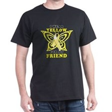 I Wear Yellow For My Friend T-Shirt