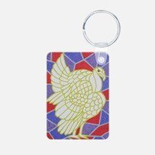 Turkey on Stained Glass - Keychains