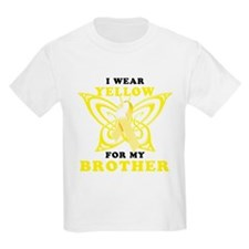 I Wear Yellow For My Brother T-Shirt